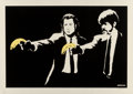 Prints & Multiples, Banksy (b. 1974). Pulp Fiction, 2003. Screenprint in colors on paper. 19-1/8 x 27-1/2 inches (48.6 x 69.9 cm) (sheet). E...