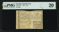 Colonial Notes:Georgia, Georgia 1776 $1/2 PMG Very Fine 20.. ...