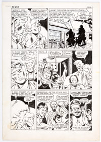 Mike Sekowsky and Ron Harris - Wonder Wheels Unpublished Story Page 2 Original Art (c. 1978)