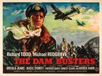 """The Dam Busters (Associated British-Pathe, 1955). Fine/Very Fine on Linen. British Quad (30"""" X 40"""")"""