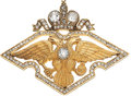 Estate Jewelry:Brooches - Pins, Diamond, Gold Brooch, Faberge. ...