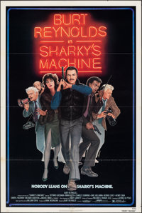 "Sharky's Machine & Other Lot (Orion, 1981). Folded, Overall: Fine/Very Fine. One Sheets (3) (27"" X 41"") &a..."