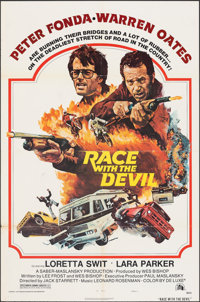 """Race with the Devil & Other Lot (20th Century Fox, 1975). Folded, Fine/Very Fine. One Sheets (3) (27"""" X 41""""..."""
