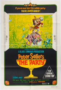 """The Party Australian Movie Poster One Sheet (27"""" X 40""""). (United Artists, 1968)"""