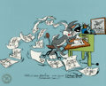 """Animation Art:Limited Edition Cel, """"Bugs Director"""" Bugs Bunny Limited Edition Cel Signed by Chuck Jones (Warner Brothers, 1989)...."""