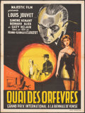 """Movie Posters:Foreign, Jenny Lamour (Majestic, 1947). Folded, Fine/Very Fine. French Moyenne (24"""" X 32"""") Original Title: Quai Des Orfevres. For..."""