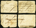 Colonial Notes:South Carolina, South Carolina Promissory Note April-May 1775 £20 Very Fine, pen cancelled.. ...