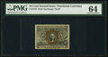 Fractional Currency:Second Issue, Fr. 1245 10¢ Second Issue PMG Choice Uncirculated 64.. ...