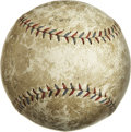 Autographs:Baseballs, Circa 1928 New York Yankees Team Signed Baseball. The ultimatebudget Murderer's Row ball, making this historic club availa...
