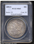 Morgan Dollars: , 1892-S $1 MS63 PCGS. The 1892-S is one of those issues ...