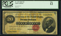Large Size:Gold Certificates, Fr. 1178 $20 1882 Gold Certificate PCGS Fine 12.. ...