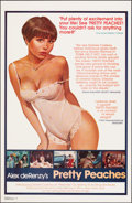 """Movie Posters:Adult, Pretty Peaches (Blu-pix, 1978). Rolled, Very Fine. One Sheet (27"""" X 41.5""""). Adult.. ..."""
