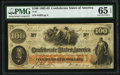 Confederate Notes:1862 Issues, T41 $100 1862 PF-11 Cr. 319A PMG Gem Uncirculated 65 EPQ.. ...