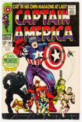 Silver Age (1956-1969):Superhero, Captain America #100 (Marvel, 1968) Condition: VG/FN....