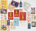 Hockey Collectibles:Others, Vintage Bee Hive Ephemera Collection (39 Items) With Ads, Booklets, Note Pads and Original Mailing Envelopes. ...