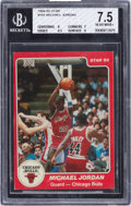Basketball Cards:Singles (1980-Now), 1984-85 Star Co. Michael Jordan #101 BGS NM+ 7.5. ...