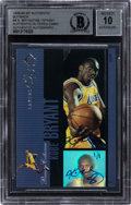 Basketball Cards:Singles (1980-Now), 1999-00 SP Authentic Buy Back Kobe Bryant #PC18 BGS Authentic, BAS 10 Auto - #1/1! ...