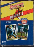 Baseball Cards:Unopened Packs/Display Boxes, 1993 Bowman Baseball Unopened Box With 24 Packs - Derek Jeter Rookie Year. ...