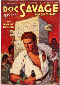 Doc Savage - March 1933 (#1) (Street & Smith) Condition: Apparent VF+
