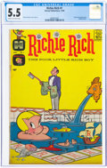 Silver Age (1956-1969):Humor, Richie Rich #1 (Harvey, 1960) CGC FN- 5.5 Cream to off-white pages....