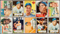 Baseball Cards:Lots, 1952-1956 Topps Baseball Collection (43) With Stars. ...