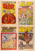 Silver Age (1956-1969):Alternative/Underground, Gothic Blimp Works Group of 4 (East Village Other, 1969) Condition: Average NM-.... (Total: 4 Comic Books)
