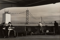 Peter Stackpole (American, 1913-1997) Construction of the San Francisco-Oakland Bay Bridge (5 Works), 1