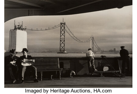 Peter Stackpole (American, 1913-1997) Construction of the San Francisco-Oakland Bay Bridge (5 works), 1935-1936 Gelati... (Total: 5 )