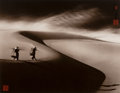 Photographs, Don Hong-Oai (Chinese, 1929-2004). Going to the Market, Vietnam, 1970. Toned gelatin silver, 1972. 14-3/8 x 18-3/8 inche...