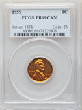 1959 1C PR69 Red Cameo PCGS. PCGS Population: (10/0). NGC Census: (50/0)....(PCGS# 83386)