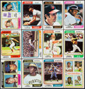 Baseball Cards:Lots, 1974 Topps Baseball Collection (722) With Red Checklists (24) & Washington Variations (5). ...