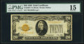 Small Size:Gold Certificates, Fr. 2402* $20 1928 Gold Certificate. PMG Choice Fine 15.. ...