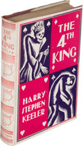 Books:Mystery & Detective Fiction, Harry Stephen Keeler. The Fourth King. New York: [1930]. First edition. Presumed later inscription....