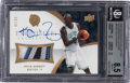 Basketball Cards:Singles (1980-Now), 2007-08 Exquisite Collection Kevin Garnett (Autographed Patches) #EA-KG BGS NM-MT+ 8.5, 10 Auto - #'d 2/35....