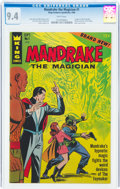 Silver Age (1956-1969):Mystery, Mandrake the Magician #1 (King Features, 1966) CGC NM 9.4 White pages....