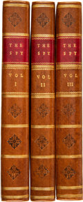 Books:Mystery & Detective Fiction, [James Fenimore Cooper]. The Spy. London: 1822. First UK edition.... (Total: 3 )