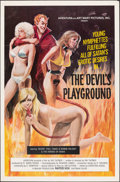"""Movie Posters:Adult, The Devil's Playground & Other Lot (Aventura, 1976). Folded, Very Fine-. One Sheets (2) (27"""" X 41"""" & 25"""" X 38""""). Adult.. ... (Total: 2 Items)"""