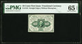 Fractional Currency:First Issue, Fr. 1243 10¢ First Issue PMG Gem Uncirculated 65 EPQ.. ...