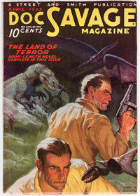 Doc Savage - April 1933 (Street & Smith) Condition: FN+