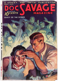 Doc Savage - May 1933 (Street & Smith) Condition: FN+