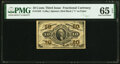 Fractional Currency:Third Issue, Fr. 1252 10¢ Third Issue PMG Gem Uncirculated 65 EPQ.. ...