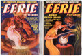 Pulps:Horror, Eerie Mysteries Group of 2 (Magazine Publishers Inc., 1938-39) Condition: Average VG.... (Total: 2 Items)