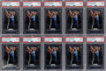 Basketball Cards:Lots, 2019 Panini Prizm Zion Williamson (Ball In Hands) #248 PSA Mint 9 Collection (10)....