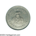Coins of Hawaii: , (1855-1860) Hawaii Waterhouse Token AU53 PCGS. The obverse ...