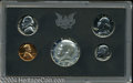 Proof Sets: , 1970 No S Dime Proof Set PR66 to PR68 Uncertified. The set ... (5 Coins)