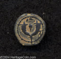 Ancients:Judaea, Ancients: Judaea. Hasmonean. John Hyrcanus I (Yehohanan). 135-104B.C.E. AE prutah (13 mm, 1.91 g). 'Yehohanan the High Priest andCou...