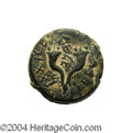 Ancients:Judaea, Ancients: Judaea. Hasmonean. Mattathias Antigonus (Mattatayah).40-37 B.C.E. AE 23 mm (13.91 g). 'Mattatayah the High Priest andCounc...