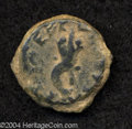 Ancients:Judaea, Ancients: Judaea. Hasmonean. Mattathias Antigonus (Mattatayah).40-37 B.C.E. AE 20 mm (6.81 g). 'Mattatayah the High Priest',cornucop...