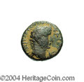 Ancients:Judaea, Ancients: Judaea. Herodian. Herod Philip. 4 B.C.E.-34 C.E. AE 18 mm(6.27 g). Year 34 (under Tiberius, 30/1 C.E.). Laureate head ofTi...
