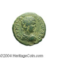Ancients:Roman, Ancients: Syria, Decapolis. Dium. Caracalla. 198-217 C.E. AE 24 mm(11.49 g). Year 271 (208/9 C.E.). Laureate, draped and cuirassedbu...